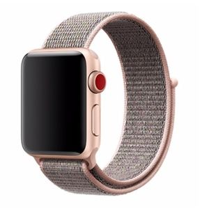NEW ROSEGOLD Breathable Strap Loop For Apple Watch